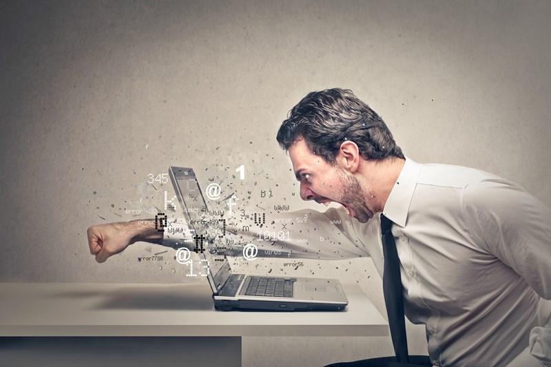 J'en ai marre de cet ordinateur