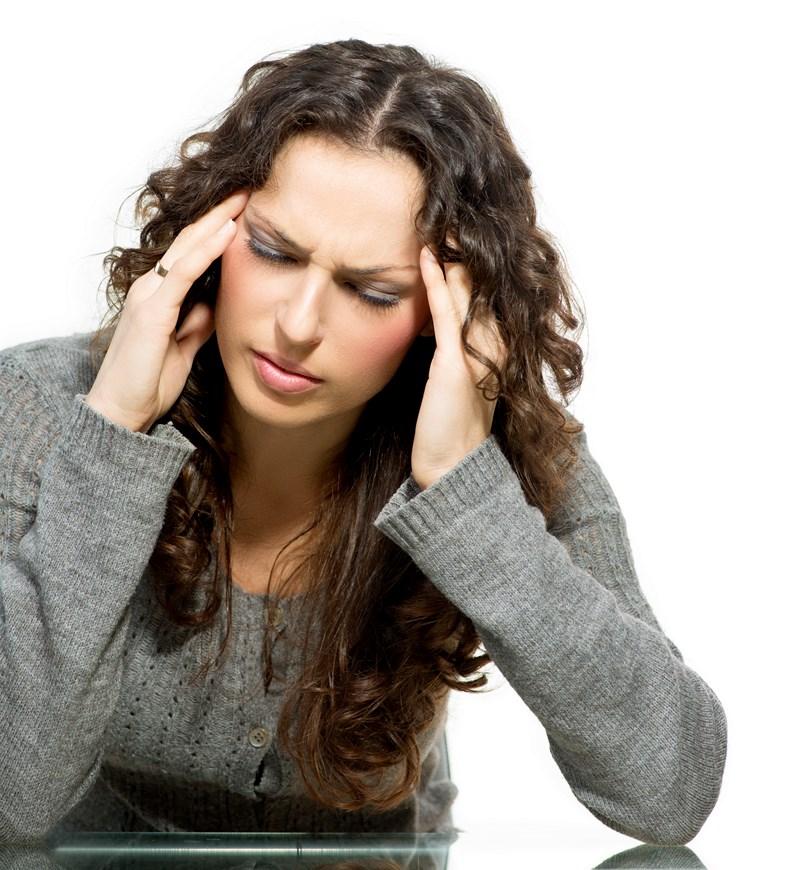 Ma copine a souvent mal à la tête