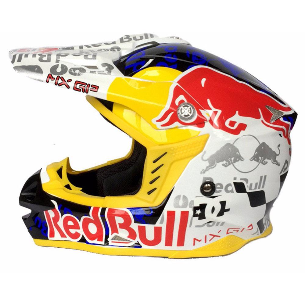 Pensez aux accessoires d'un casque de motocross